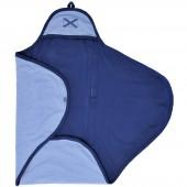 Couverture nomade jersey bleue (0-3 mois) - Jollein