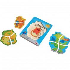 Set petits puzzles Dragons adorés (4 puzzles)