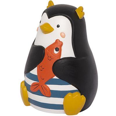 Tirelire pingouin Les Nanouks (10,5 x 12,5 cm)  par Galipette