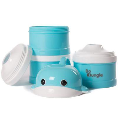 Boîte doseuse de lait Baleine bleue  par Bo Jungle