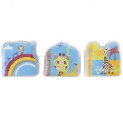 Set De 3 Livres De Bain Sophie La Girafe