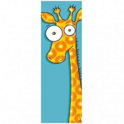 Tableau tête de girafe (20 x 60 cm)  par Série-Golo