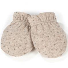 Moufles de naissance Nordic baby beige