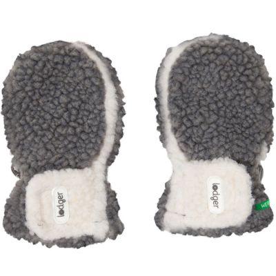 Moufles gris et écru Teddy (6-12 mois)  par Lodger