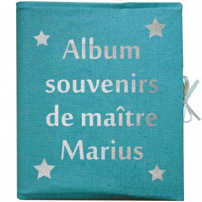Album Photo Maîtresse personnalisable bleu canard (126 pages)  par Les Griottes