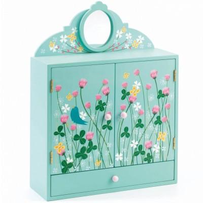 Boîte à bijoux jardin fleuri Djeco