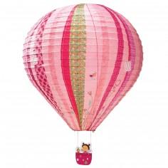 Lanterne montgolfière Liz motifs phosphorescents