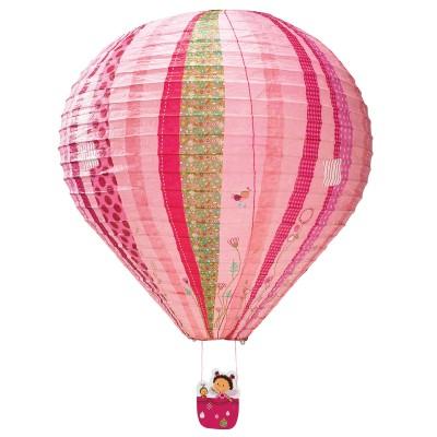 Lanterne montgolfière Liz motifs phosphorescents  par Lilliputiens
