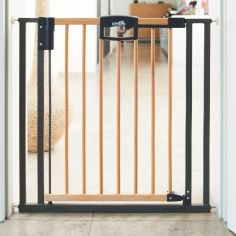 Barrière Easy Lock Wood Plus (68 à 76 cm)