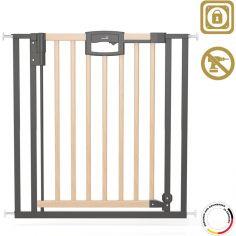 Barrière Easy Lock Wood Plus (68 à 76 cm)