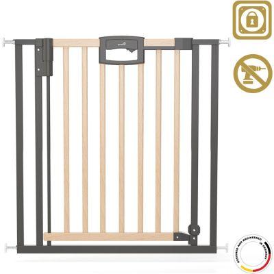 Barrière Easy Lock Wood Plus (68 à 76 cm) Geuther