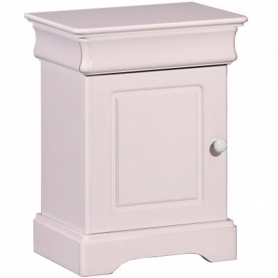 Table de chevet elodie rose sauthon signature - Table de chevet rose ...