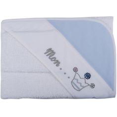 Cape de bain et gant Mon...Prince bleu (75 x 80 cm)