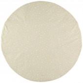 Tapis de parc Apache sable Etoile blanche (105 cm) - Nobodinoz