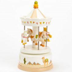Carrousel Clotaire le lama
