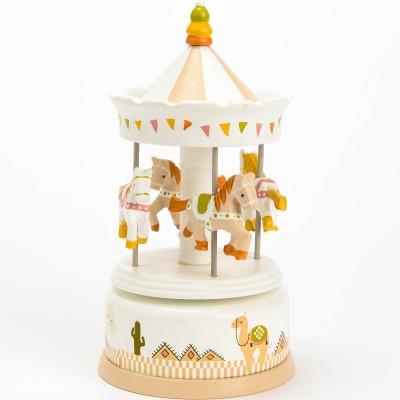 Carrousel Clotaire le lama  par Amadeus