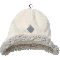 Bonnet polaire Scandinavian Off White (0-3 mois)