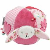 Balle d'activités Pink Blossom lapin - Little Dutch