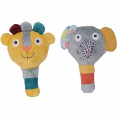 Lot de 2 maracas Jungle Boogie (13 cm)