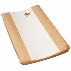 Housse de matelas à langer Corbeau et Renard orange (44 x 72 cm)