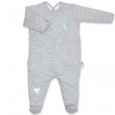 Pyjama léger jersey Pixar gris à points tom (6-12 mois : 67 à 74 cm)