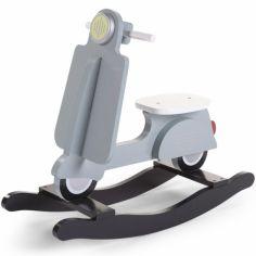 Scooter à bascule mint blue et noir