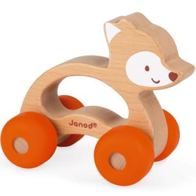 Renard roulant Baby Pop Janod
