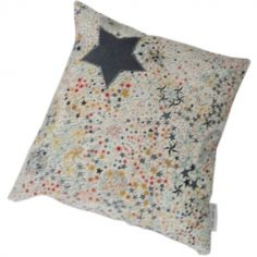 Coussin carré Liberty multicolore (23 x 23 cm)