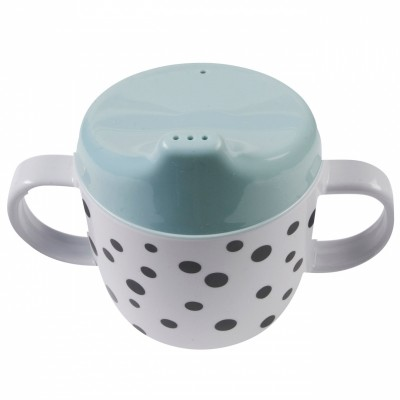 Tasse à bec Dots bleue  par Done by Deer