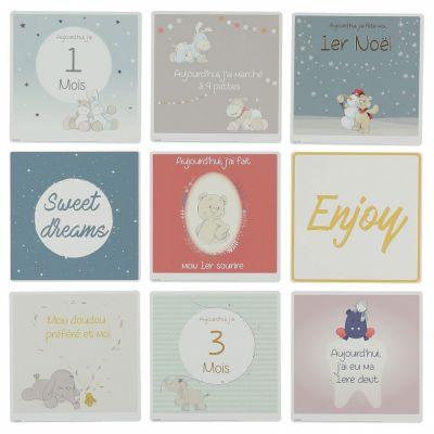 Cartes étapes de bébé (23 cartes)  par Noukie's