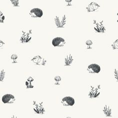 Papier peint motif animaux forêt (10 m)