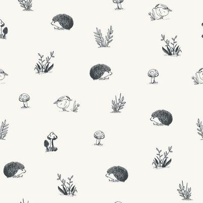 Papier peint motif animaux forêt (10 m)  par Lilipinso
