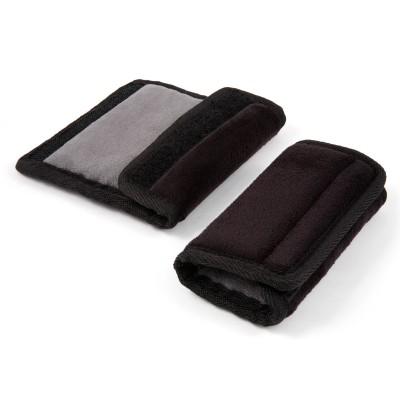 Paire de coussinets protège ceinture Soft Wraps noir  par Diono