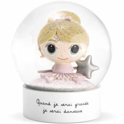 Boule à neige Je serai danseuse  par Isabelle Kessedjian