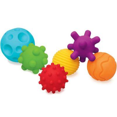 Balles Sensory (6 pièces)  par Infantino