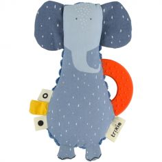 Doudou de dentition Mrs. Elephant