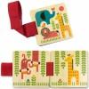 Livre en bois Safari pour poussette (6 pages) - Petit Collage