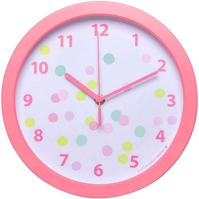 Horloge rose Confetti A Little Lovely Company