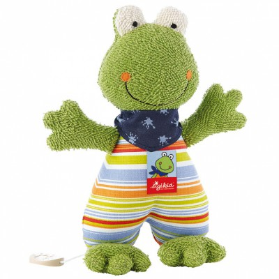 Peluche musicale grenouille Fortis Frog (23 cm) Sigikid