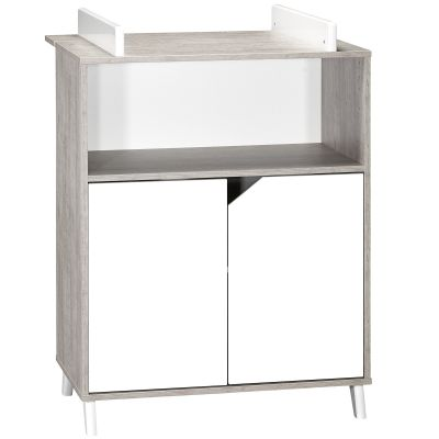 Commode à langer Scandi gris Baby Price
