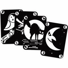 Jeu de cartes Mistibooh phosphorescent (33 cartes)  par Djeco