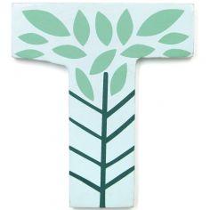 Lettre décorative Arbre T comme tree