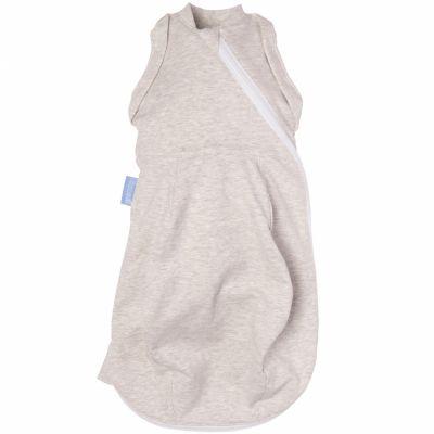 Gigoteuse d'emmaillotage légère grise (0-3 mois)  par The Gro Company