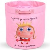 Sac à jouets Quand je serai grande je serai princesse - Isabelle Kessedjian