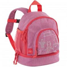 Mini sac à dos About Friends chiné rose