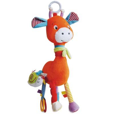 Peluche girafe et ses multiples activités Doudou et Compagnie
