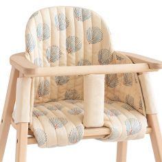 Coussin de chaise haute Growing green Blue Gatsby Cream
