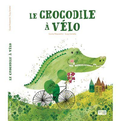 Livre Le crocodile à vélo