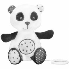 Peluche musicale panda Chao Chao (25 cm)