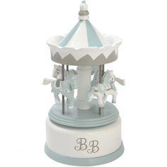 Carrousel musical BB bleu